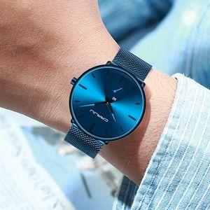 Blue Men Watch Top Luxury Brand Business Watches